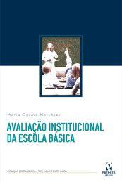 AVALIAÇÃO INSTITUCIONAL DA ESCOLA BÁSICA