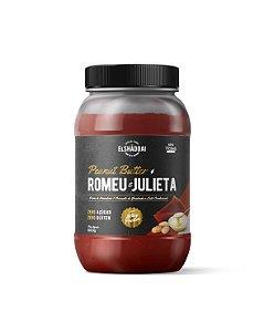 Creme de Amendoim Whey Romeu e Julieta zero açucar - 500g