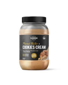 Creme de Amendoim Whey Cookies and Cream Zero açucar 500g