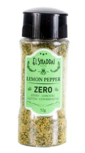 Lemon Pepper Zero sódio
