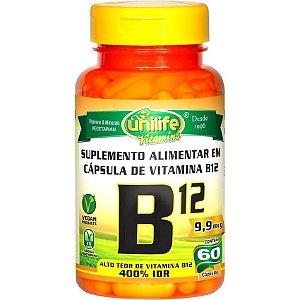 VITAMINA B12 - 60 CÁPSULAS (Preço promocional para 03 unidades)