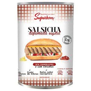 SALSICHA DEFUMADA VEGETAL - 400G