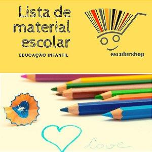 Lista de Material - Infantil 4