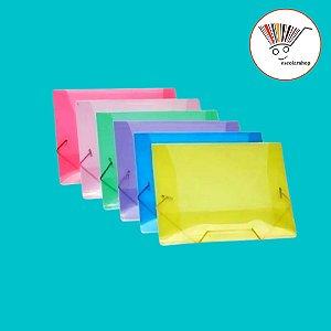 Pastas Aba com elástico coloridas