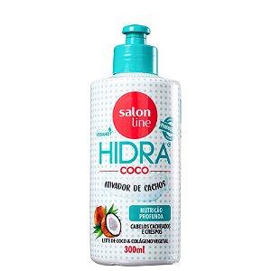 Ativador de Cachos Hidra Coco 300 ml - Salon Line