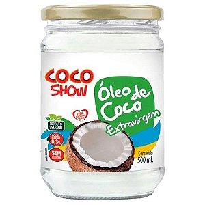 Óleo de coco  extra virgem  500ML COCO SHOW (COPRA)