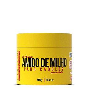 Máscara Amido De Milho 500g - Glatten