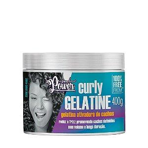 Gelatina Ativadora de Cachos Curly Gelatine 400g - Soul Power