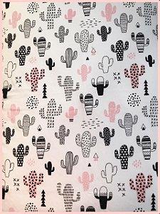 Toalha anti frizz - Branca Cactus
