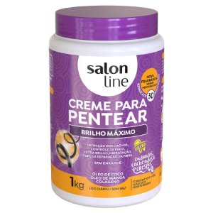 Brilho Máximo creme de pentear - Salon Line 1k