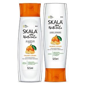 Skala Spa Naturals (shampoo e condiconador) - Tangerina e gengibre