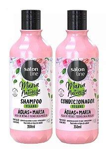 Maria Natureza Águas de Maria (shampoo e condicionador) - Salon Line