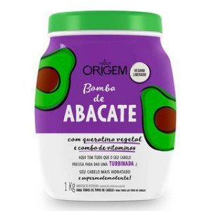Nazca Origem Creme de Hidratação Bomba de Abacate 1kg