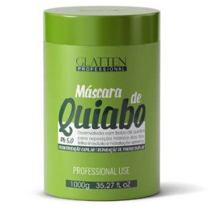 Máscara Glatten  Quiabo 1kg