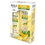 Kit Shampoo e condicionador Bomba de de vitaminas Banana