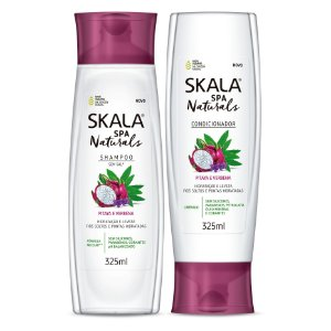 Skala Spa Naturals (shampoo e condiconador)-Pitaya e Verbena