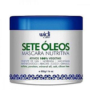 SETE OLEOS MASCARA NUTRITIVA - Widi Care 500 GR