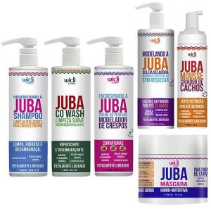 Linha Completa Juba Crespos - Widi Care