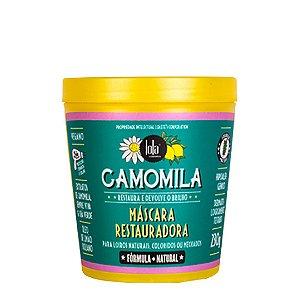 Máscara Restauradora de Camomila 230g - Lola Cosmetics