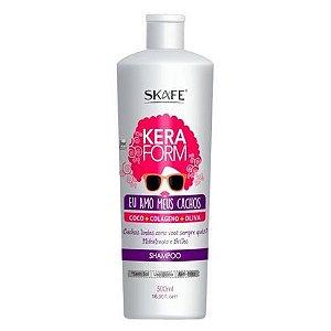 Shampoo Eu amo Meus Cachos- Keraform 500 ML