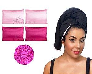 Mega Kit antifrizz - Pink black