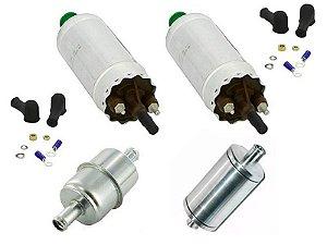 Bomba de Combustivel Gti 8 bar c/2 + Pre Filtro + Filtro Lavavel