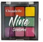 Paleta de Sombra Nine Neon Chandelle