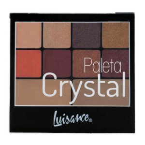 Paleta Sombras Crystal Luisance