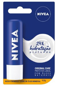 Protetor Solar Labial Nivea 4,8g Lip Care Essencial
