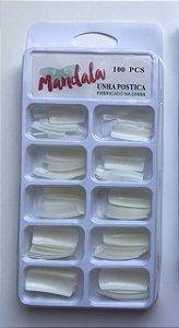 Unhas postiças Mandala 100 peças
