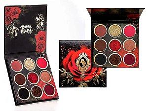 BT Red Rose Palette Bruna Tavares