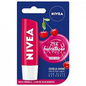 Hidratante Labial Cereja Shine Nivea