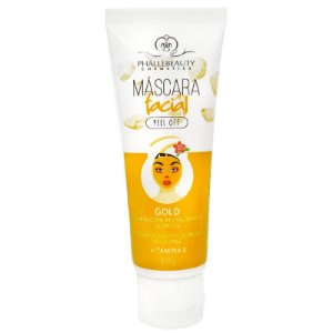 Máscara Facial Gold Peel Off Phállebeauty
