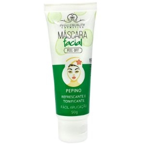 Máscara Facial Peel Off Pepino Phállebeauty