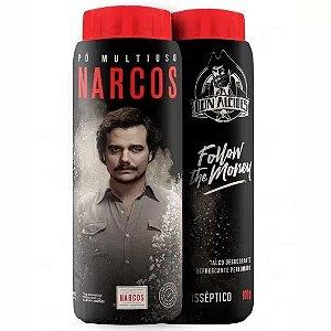 Pó Multiuso Narcos 100g Talco Antisséptico Refrescante Don Alcides