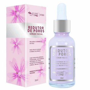 Sérum Facial Redutor de Poros Max Love 30ml