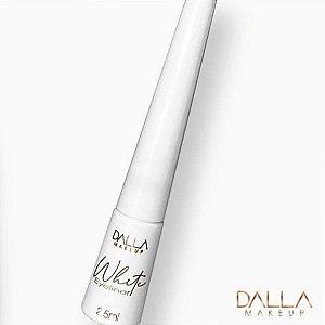 Delineador Líquido Branco Dalla Makeup White