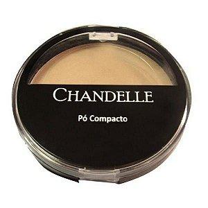 Pó Compacto com espelho Chandelle
