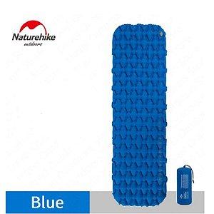 Isolante Inflável Sleeping Pad FC-10 Naturehike - Azul