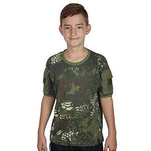 Camiseta Ranger Kids Bélica - Camuflada Kryptek Mandrake