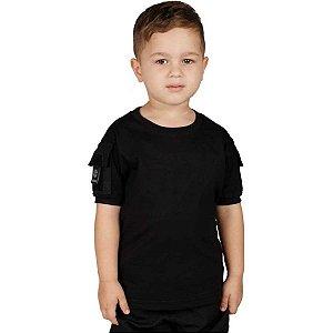 Camiseta Ranger Kids Bélica - Preto