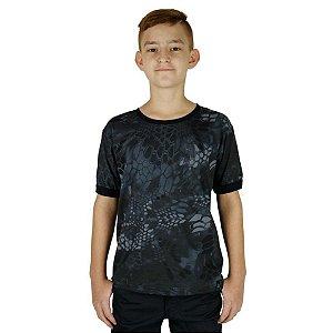 Camiseta Soldier Kids Camuflada Bélica Typhon