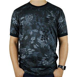 Camiseta Masculina Soldier Bélica Camuflada Typhon
