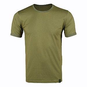 Camiseta Masculina Soldier Bélica - Verde Oliva