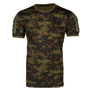 Camiseta Tática Masculina Ranger Digital Argila Bélica