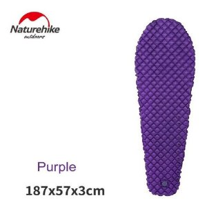 Isolante Inflável Ultralight Mummy Naturehike - Roxo