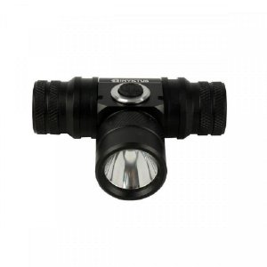 Lanterna de Cabeça Cave T6 Invictus - Preto