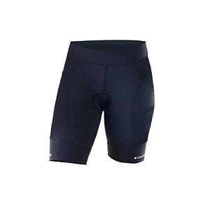 Shorts de Ciclismo Challenge Feminino Sol Sports - Preto