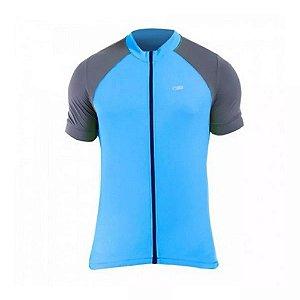 Blusa de Ciclismo Luminous Light Masculina Sol Sports - Azul Turquesa