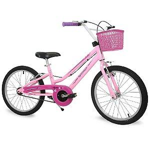 Bicicleta Aro 20 Bella Nathor - Rosa